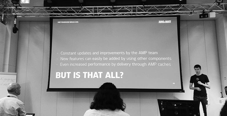 AMP Roadshow 2019 Berlin Vortrag