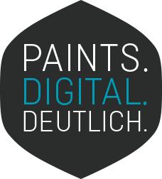 Paints. Digital. Deutlich.